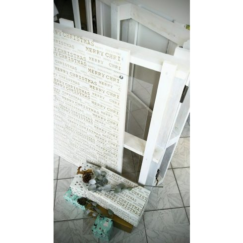 Welcome board kölcsönzés, dupla fehér raklap írható plexi és kréta tábla oldallal