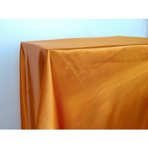 Narancssárga szatén táblaabrosz kölcsönzés választható méretben