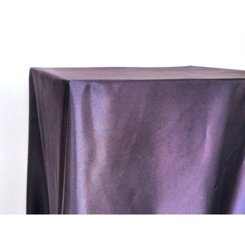 Padlizsán lila szatén táblaabrosz kölcsönzés választható méretben