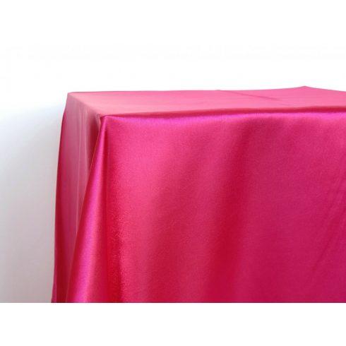 Pink rózsaszín, magenta szatén táblaabrosz kölcsönzés választható méretben
