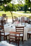 Natural linen, burlap, jute tablecloth and runner rental