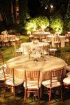 Burlap round tablecloths