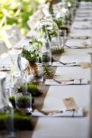 Rent burlap table runners