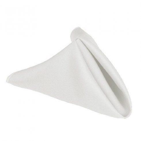 Fehér damaszt szalvéta kölcsönzés