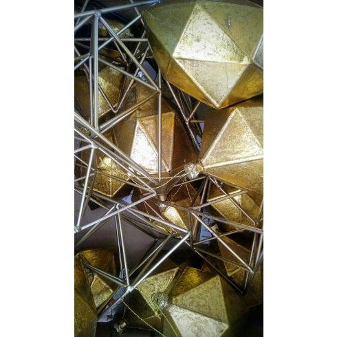 Geometrikus asztali kellékek kölcsönzése 20 db-os csomagban