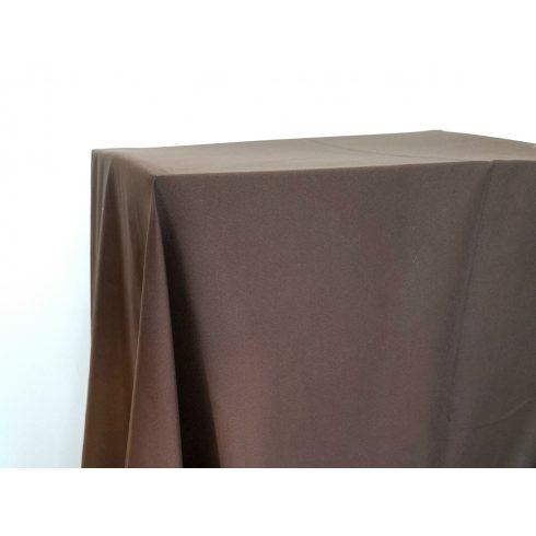 Matt felületű barna színű táblaabrosz kölcsönzés választható méretben