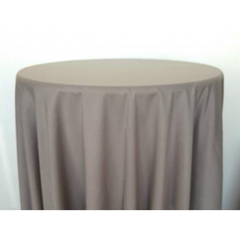 Capuccino barna színű matt körabrosz kölcsönzése
