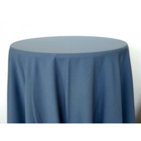Francia kék színű matt körabrosz kölcsönzés
