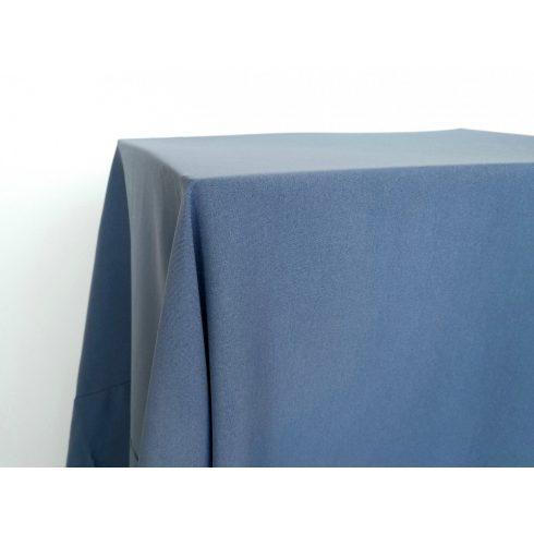 Matt felületű francia kék színű táblaabrosz kölcsönzés választható méretben