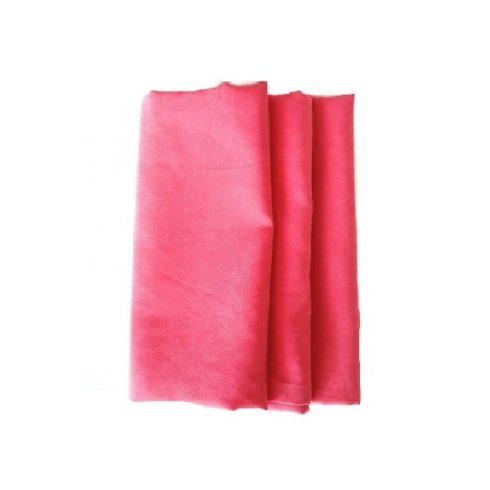 Korall rózsaszín színű matt műszálas textil szalvéta kölcsönzés