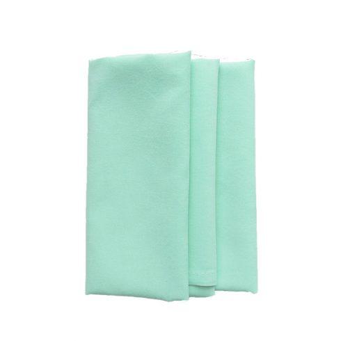 Menta színű matt műszálas textil szalvéta kölcsönzés