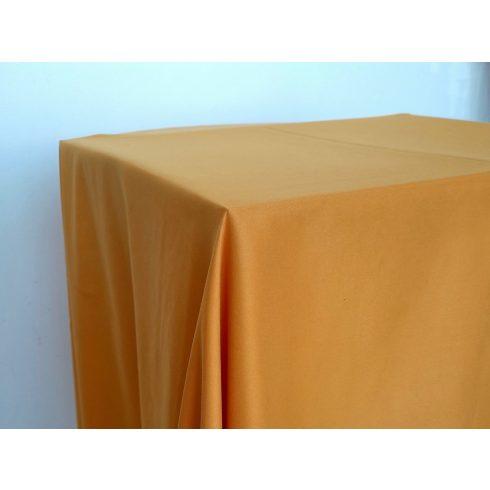 Matt felületű narancs színű táblaabrosz kölcsönzés választható méretben