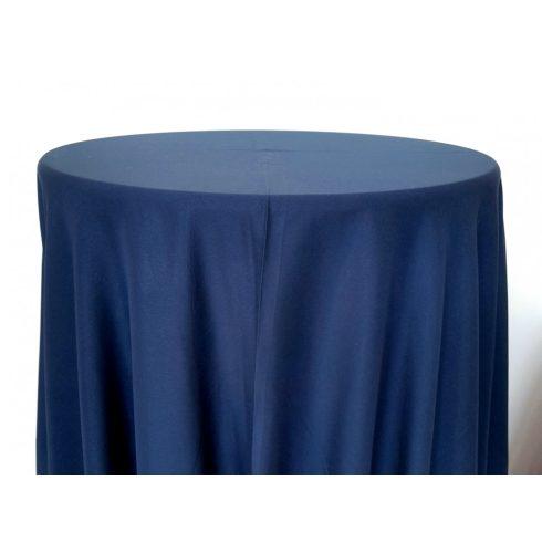 Tengerészkék navy blue színű matt körabrosz kölcsönzés