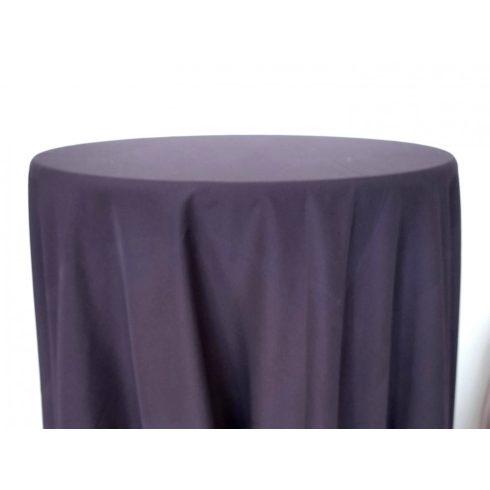 Padlizsán lila színű matt körabrosz kölcsönzése