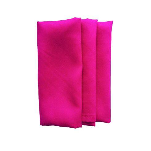 Pink rózsaszín színű matt műszálas textil szalvéta kölcsönzés