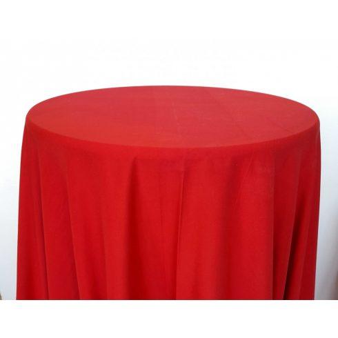 Piros színű matt körabrosz kölcsönzése