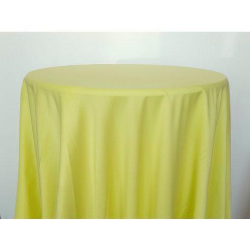 Sárga színű matt körabrosz kölcsönzése