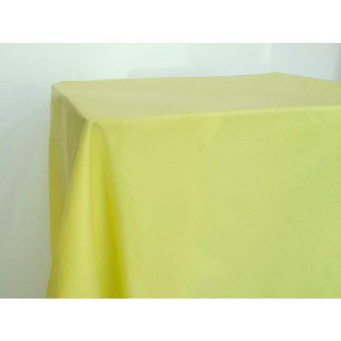 Matt felületű sárga színű táblaabrosz kölcsönzés választható méretben
