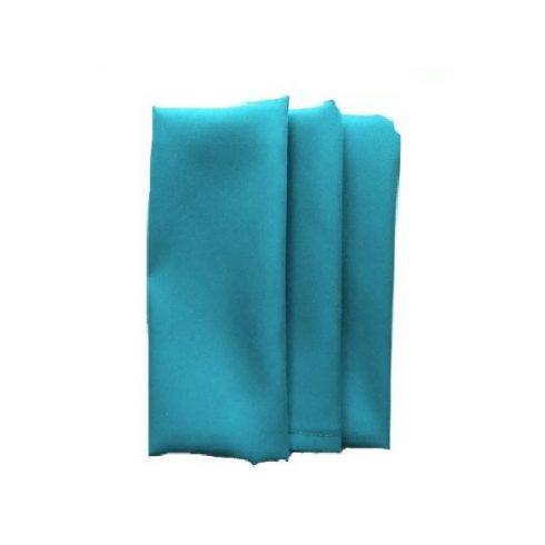 Smaragdzöld, emerald színű matt műszálas textil szalvéta kölcsönzés