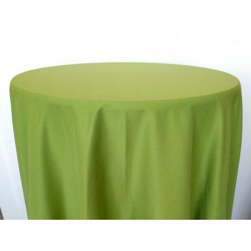 Kiwi zöld színű matt körabrosz kölcsönzése