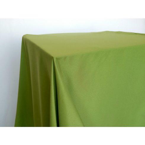 Matt felületű kiwi zöld színű táblaabrosz kölcsönzés választható méretben
