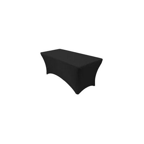 Spandex fekete asztalhuzat kölcsönzés táblaasztalra