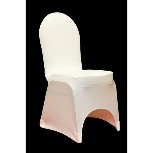Fehér spandex lycra székszoknya kölcsönzés