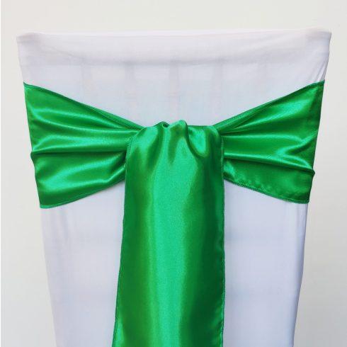 Fűzöld szatén székmasni kölcsönzés
