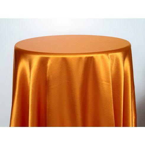 Narancssárga színű szatén körabrosz bérlése