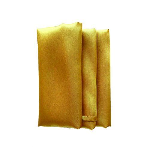 Szatén szalvéta bérlése arany színben