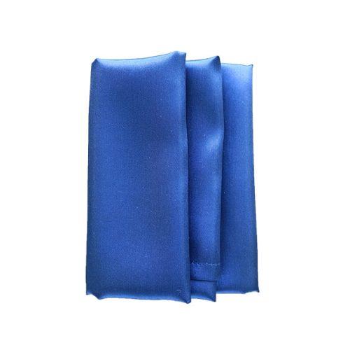 Szatén szalvéta bérlése business kék színben