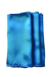 Rent teal blue color satin napkin