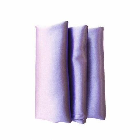 Szatén szalvéta bérlése levendula lila színben