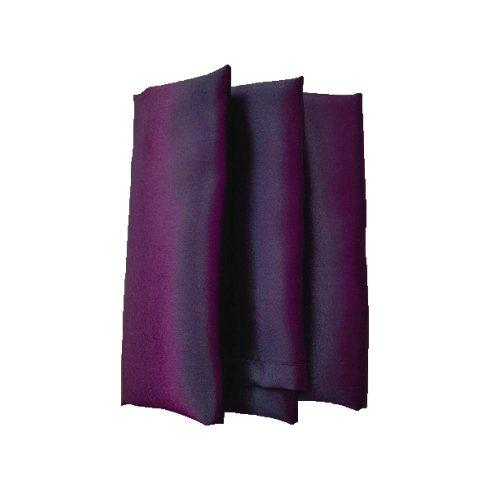 Szatén szalvéta bérlése padlizsán lila színben