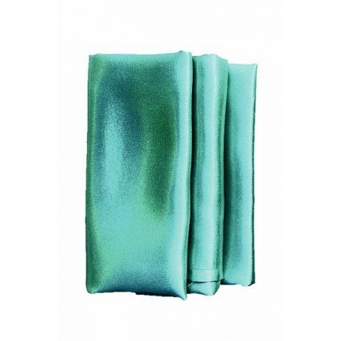 Szatén szalvéta bérlése smaragdzöld színben