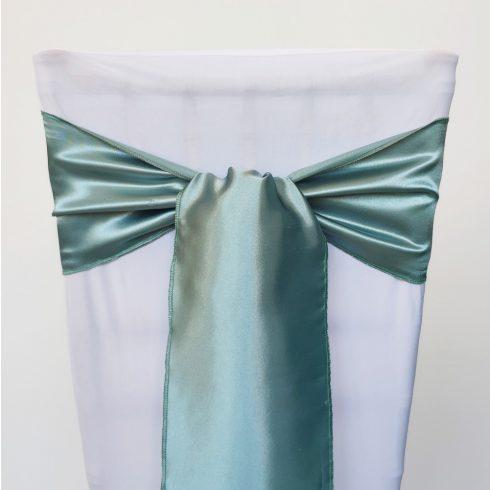 Szürkészöld színű szatén székmasni kölcsönzés